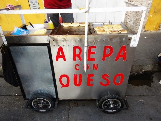 arepa cart